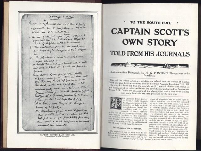20130802 [Captain Scott's Own Story]