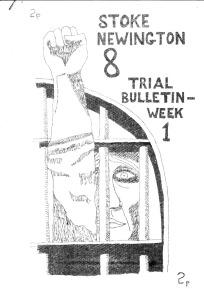 20130920 [Stoke Newington 8 Bulletin 1]