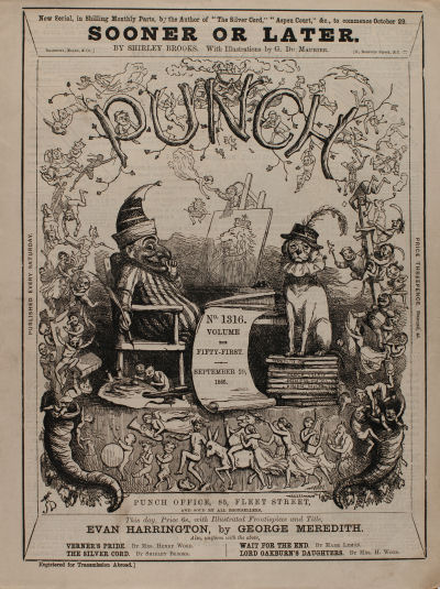 An issue of Punch from 1866