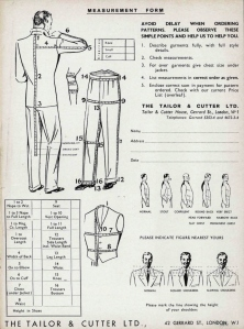 Tailor and Cutter 1966