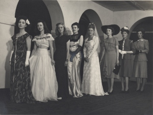 Art School Dress Parade, 1950s