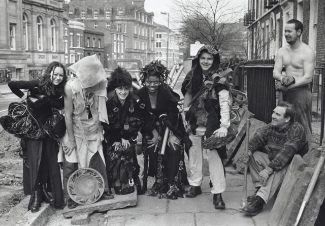 Art School Students on Hope Street, 1980s
