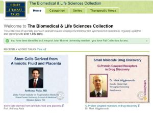 Image of Henry Stewart Talks: The Biomedical & Life Sciences Collection