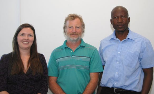Left to Right: Kate Shemilt, Tim Stott and Victor Utomi