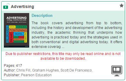 Pearson books message