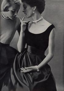 Image from Harper's Bazaar, August 1950