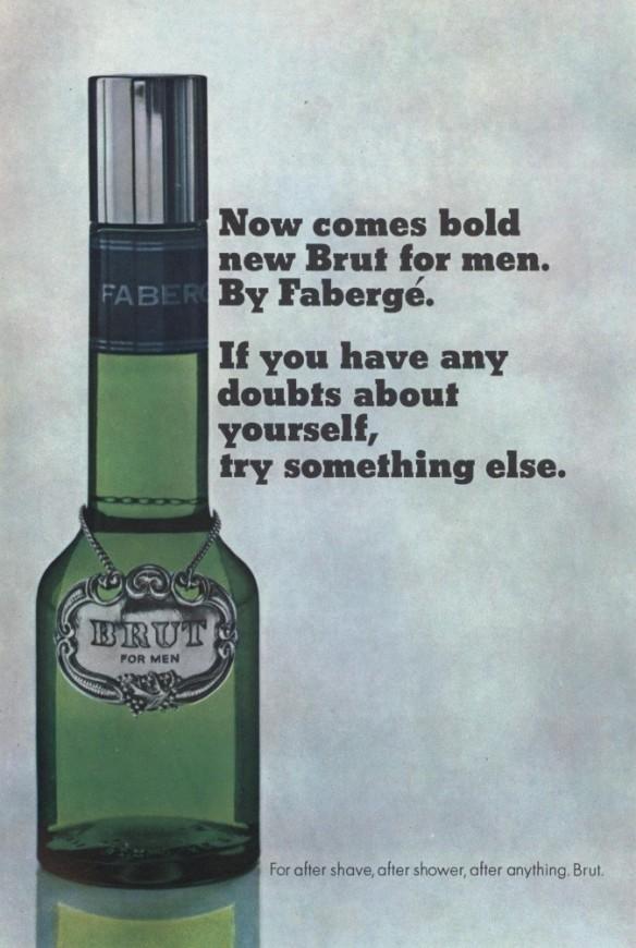 Brut for Men, 1966.